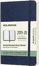 モレスキン 手帳 2019年7月始まり 18ヶ月ウィークリーダイアリー ソフトカバー ポケットサイズ サファイアブルー DSB2018WN2Y20