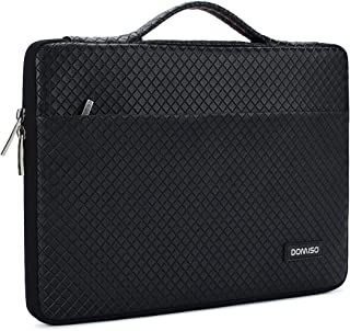 DOMISO 15.6 Inch Waterproof Laptop Sleeve with Handle Portable Carrying Case for 15.6