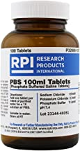 PBS [Phosphate Buffered Saline] 100 ml Tablets, 100 Tablets per Bottle