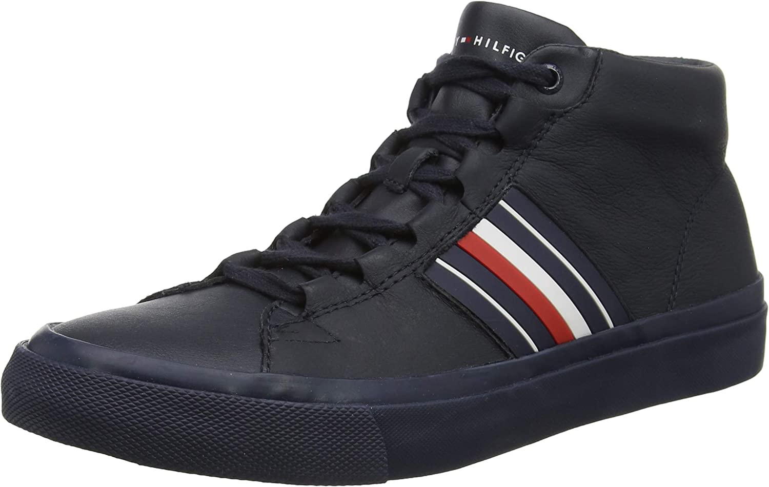 Tommy Tommy Tommy Hilfiger Herren Corporate Leather Mid Turnschuhe  3e5a8a