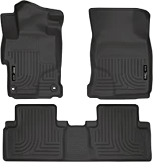 Husky Liners Fits 2014-15 Honda Civic - with 4 Doors Weatherbeater Front & 2nd Seat Floor Mats