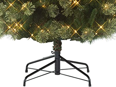 Cashmere Pine Christmas Tree Jaclyn Smith 7' Pre-Lit Clear Light Clearwater Slim