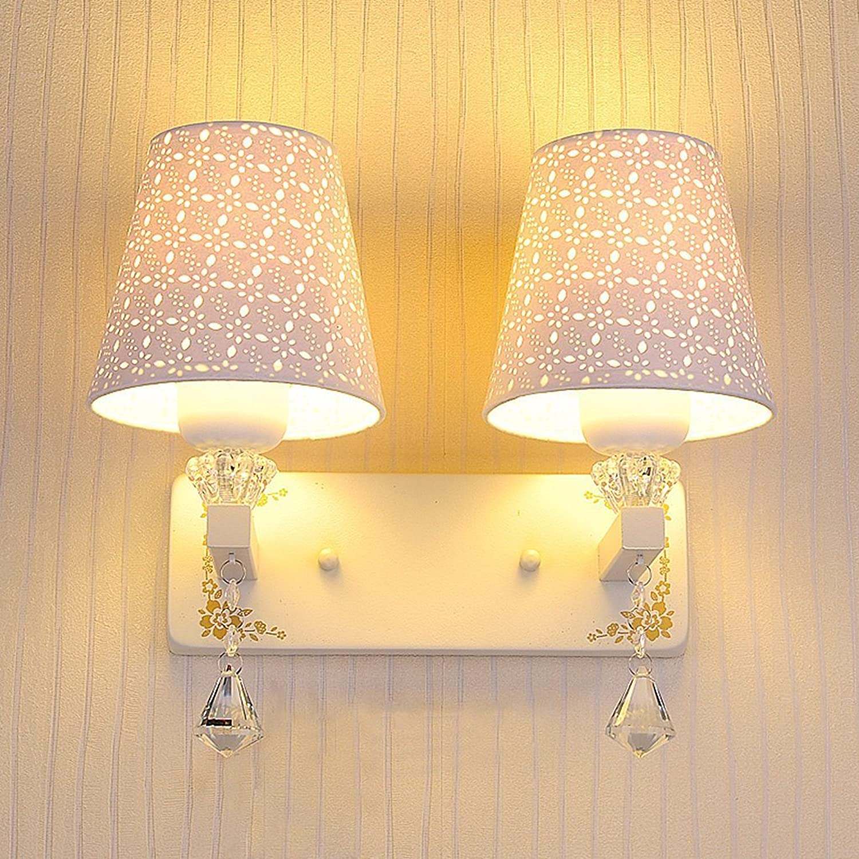GYR Bedroom LED Crystal Wall Light Simple Modern Warm Wall Lamp Aisle Living Room Balcony Staircase Hotel Lights,A B078KGRBXF   Günstig