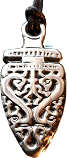 Dragon Spirit Warrior - Pewter Pendant - Celtic, Norse, Nordic, Knotwork, Shaman, Jewelry
