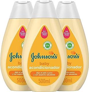 Johnsons Baby Acondicionador Familiar Clásico 500 ml Pack de 3