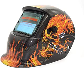 Prima05Sally Solar Powered Oscurecimiento Automático TIG MIG MMA Máscara de Soldadura Eléctrica Casco Soldador Cap Lente