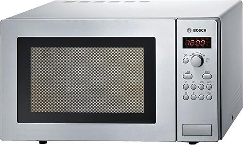Bosch Electroménager HMT84M421 Micro-ondes Série 2, Pose-libre, 51 x 30 cm, 5 puissances - 900 W - Inox Argenté