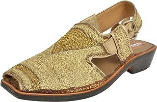 BELLY BALLOT Men's Leather Sandals