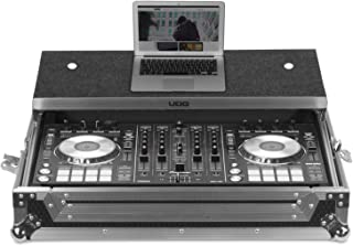UDG FlightCase DDJ-RX/SX2/SX3 + (Laptop), color plateado
