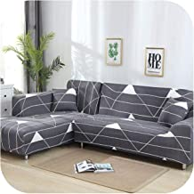 1/2Pc Sofa Covers for Living Room Needs Order Sofa Cover Set (2Piece) If is L-Shape Corner Sofa Protect Furniture-Color 5-...