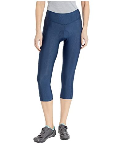 Pearl Izumi Escape Sugar Cycling 3/4 Tights (Navy Phyllite Texture) Women