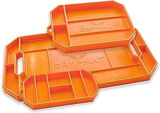 Grypmat Pro   Non-Slip Flexible Orange Tool Tray   Tool Box Organizer   Socket Organizer   Tool Holder   Tool Mats   No Ma...