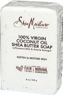 Shea Moisture Sheamoisture 100% Virgin Coconut Oil Shea Butter Soap, 8 Oz