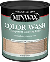 Minwax 618604444 Color Wash Transparent Layering Color, White Wash, 1 Quart