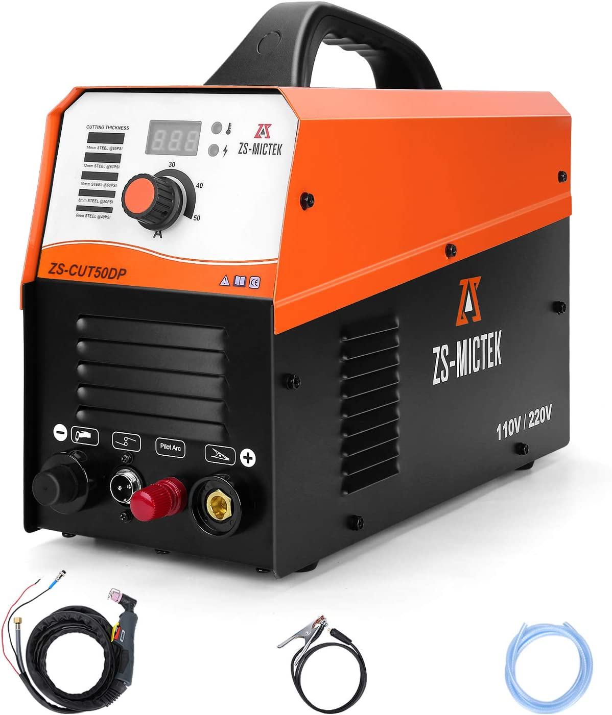 Plasma Spasm price Cutter Non-Touch Pilot Arc 50Amp Clean Cut 1 220V 110 Quality inspection 2''