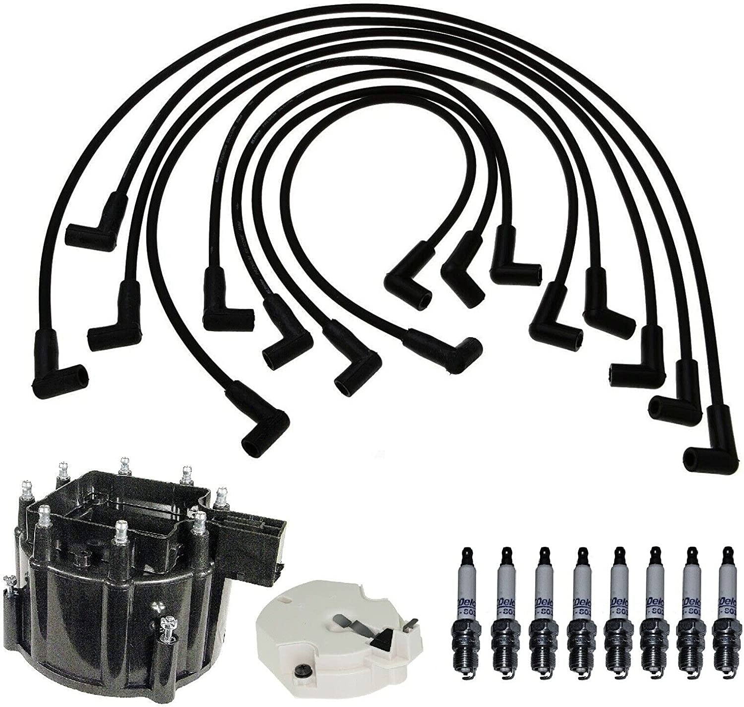 New mail order Replacement Distributor Cap Rotor Wire Gifts Kit Spark Plug