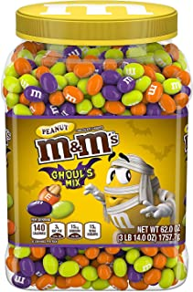 M&M'S Ghoul's Mix Peanut Chocolate Halloween Candy