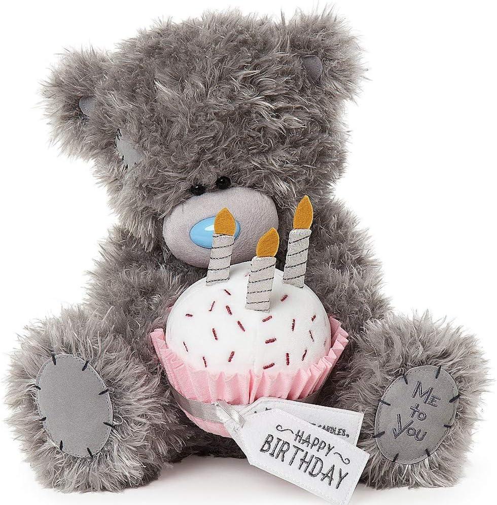 Me to You Tatty Teddy Long-awaited Bear Happy shop Birthday Cupcake Grey with
