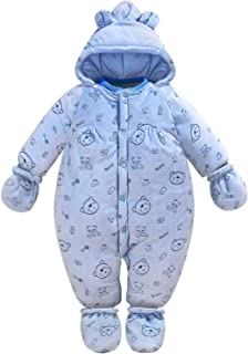 Babuleyuan Unisex Baby Winter Cotton Bunting Outfits Romper Outwear