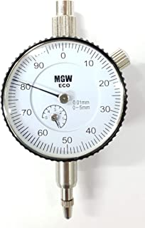 MGW ECO Series Dial Indicator 0-5mm LC 0.01mm