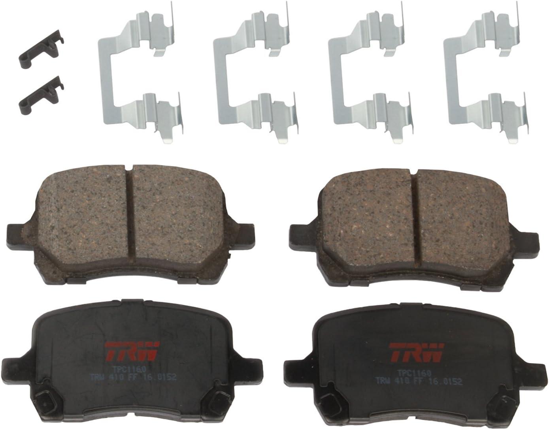 TRW バーゲンセール Automotive TPC1160 Disc Brake Set Pad おトク Chevrolet Malibu: for