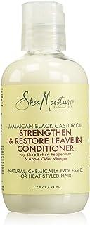 Shea Moisture Jamaican Black Castor Oil Reparative Leave-in Conditioner By Shea Moisture for Unisex - 3.2 Oz Conditioner, ...