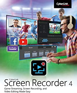CyberLink Screen Recorder 4 Deluxe [PC Download]