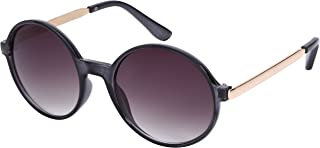 Edge I-Wear Round Circle Sunglasses with Gradient Lens 32127TT-AP