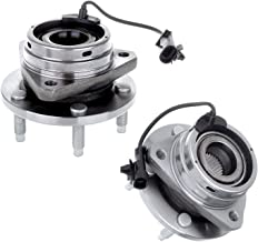 Bodeman - Pair 2 Front Wheel Hub and Bearing Assembly for 2005 2006 2007 2008 2009 2010 Pontiac G6/ 2007-2009 Saturn Aura - 5 Lug w/ABS