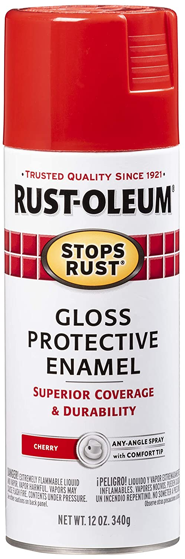 Rust-Oleum 248568-6PK Stops Rust Spray Oz 12 Paint lowest price Cherr Gloss San Diego Mall