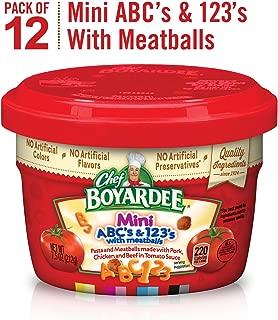 Chef Boyardee Mini-Bites Spaghetti Rings & Meatballs