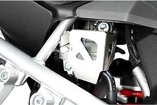 SW MOTECH Bremsflüssigkeitsbehälter Schutz, Silbern für Suz DL1000 V Strom (14 )/Honda CRF1000L