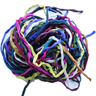 Nahari Silks Hand-Dyed Silk Ribbon Cords for Jewelry Crafts - Surprise Me - 10 Pcs