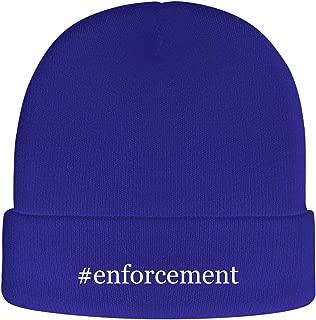 One Legging it Around #Enforcement - Soft Hashtag Adult Beanie Cap