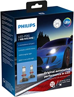 Philips automotive lighting 11366XUWX2 X-tremeUltinon gen2 LED car Headlight Bulb (H8/H11/H16), 5.800K, Set of 2