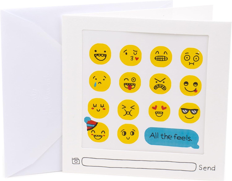 Hallmark Geburtstagskarte Grußkarte 82 Emoji Stickers B01LX2DOST | Ideales Ideales Ideales Geschenk für alle Gelegenheiten  2f003d