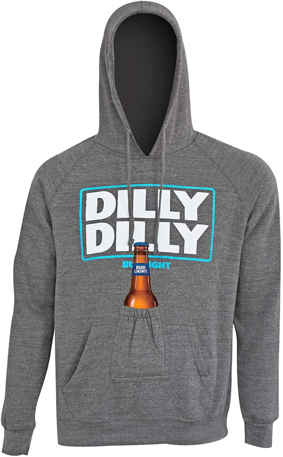 174387cdd0 Bud Light Dilly Dilly Dilly Dilly Beer Pouch Hoodie 96654b - yici ...