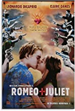 QASD Romeo and Juliet Movie Poster 1996 Poster Decorative Painting Canvas Wall Art Living Room Posters Bedroom Painting 08...