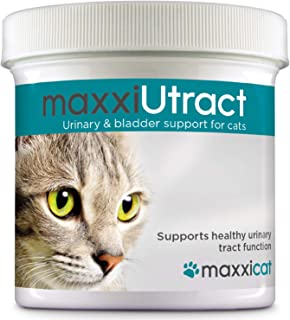 maxxicat – maxxiUtract Urinary and Bladder Supplement for Cats – Helps Prevent UTI Recurrence, Support Feline Bladder Control and Urinary Tract System Health – Cranberry Formula Powder 2.1 oz