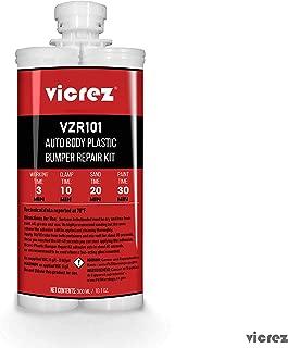Vicrez vzr101 Auto Body Plastic Bumper Repair Kit 10.1 oz/ 300 ml
