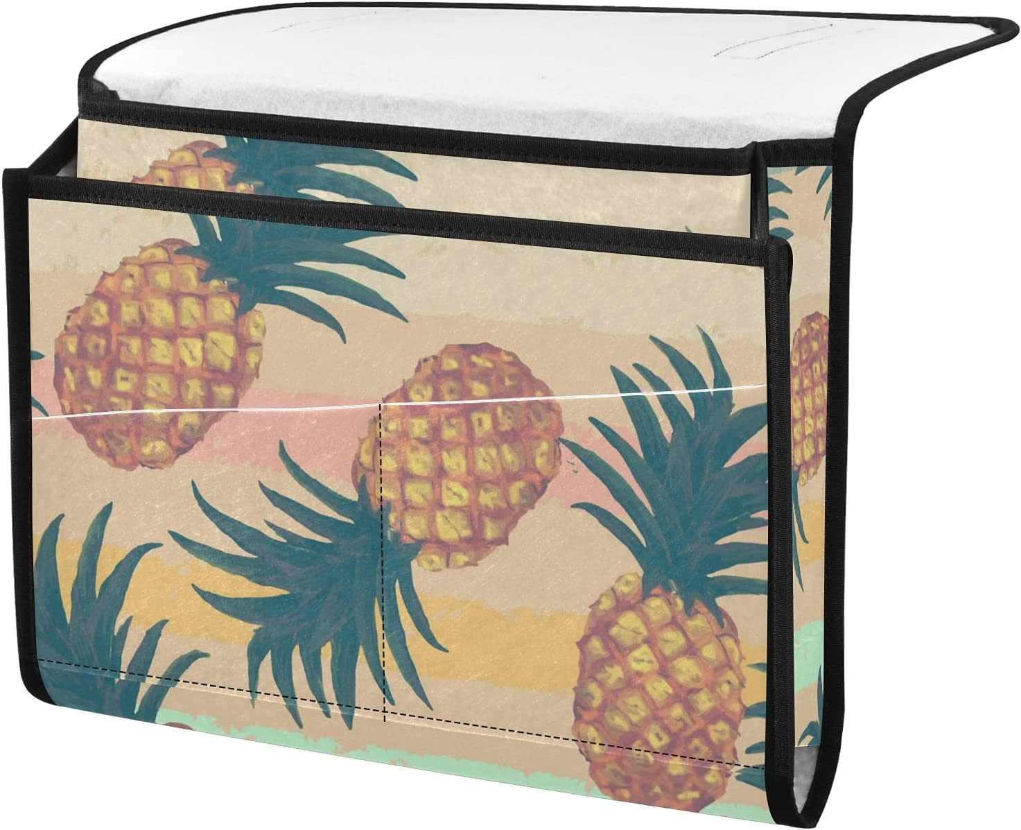 senya Watercolor Pineapple Brand Cheap Sale Venue Bedside Storage Cad OFFicial Organizer