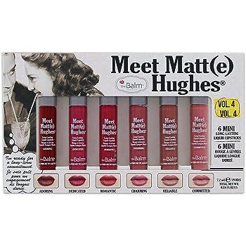 theBalm MEET MATTE HUGHES® NUDE Set of 6 Mini Long Lasting