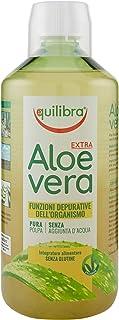 Equilibra Integratori Alimentari, Aloe Vera Extra, Integratore Aloe Vera da Bere Puro o Diluire in Altra Bevanda al Mattin...