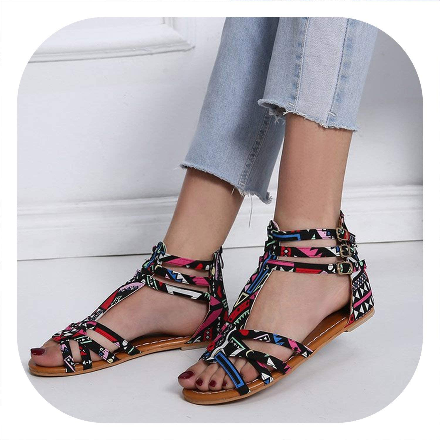 Mr Z Waroom Sandals Women Summer Non-Slip Flat shoes Linen Slippers Flat with Casual shoes Summer Slippers 2019 flip Flops