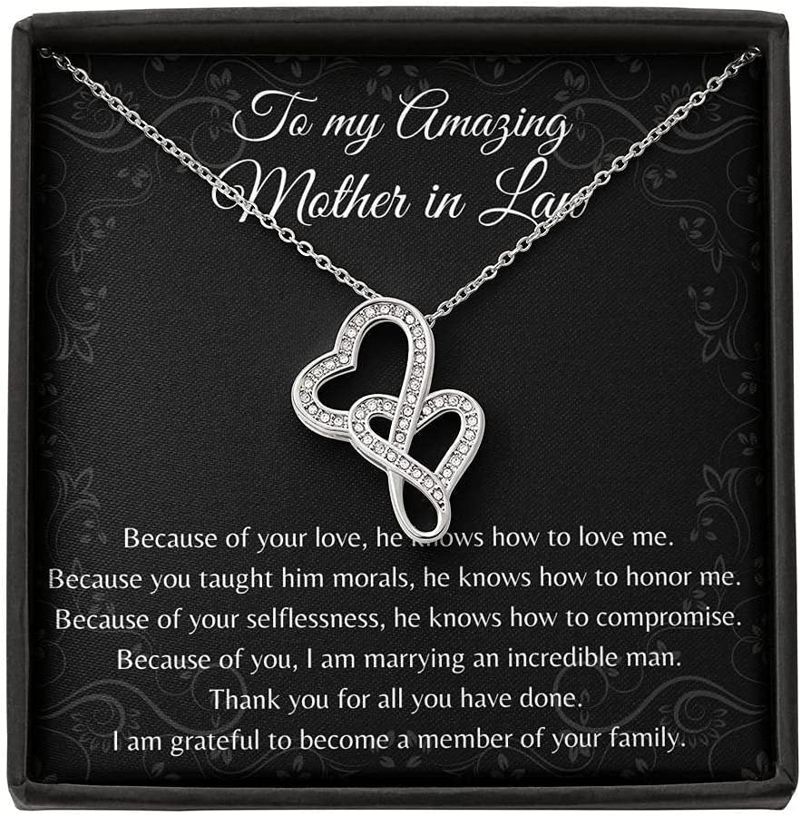 Double Hearts Mother in Law Day Sale price Jacksonville Mall Gif Gift Wedding