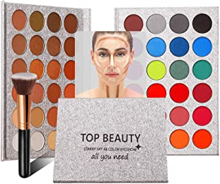 TOPQuality Matte and Glitter Eye Shadow Makeup Palette,48 Colors Eyeshadow Palette Professional Long Lasting Shimmer Glitter Eye Shadow Makeup Kit Set