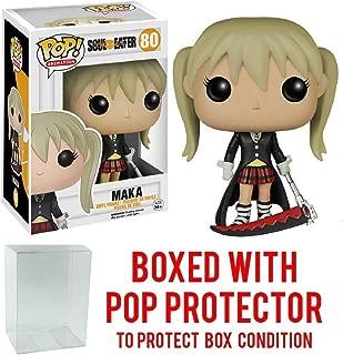 Funko Pop! Anime: Soul Eater - Maka Vinyl Figure (Bundled with Pop BOX PROTECTOR CASE)