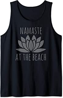 Beach Vacation Must Haves Namaste At The Beach Tank Top