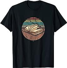 Retro Bookish Vintage Avid Book Lovers Readers T-Shirt
