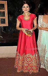 ee85383af3 Radhe Fashion Banglori Silk Tometo A-line Kurti For Womens, Free Size,  Casual